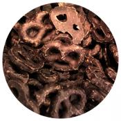Dark Chocolate Pretzel Twist