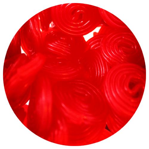 Haribo Red Licorice Wheels