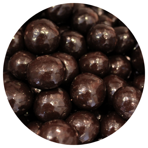 Triple Dark Chocolate Malted Milk Balls