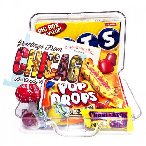 Chicago Suitcase Gift Set