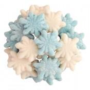 Gummy Glitter Snowflakes