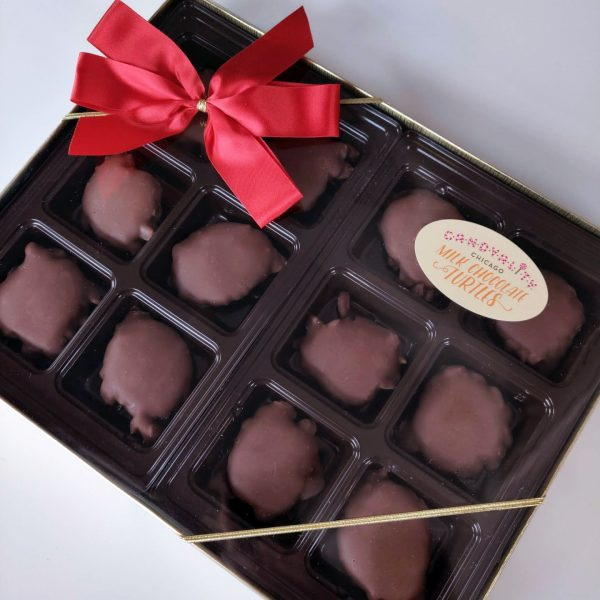 Gourmet Milk Chocolate Turtle Box